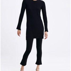 NWT Zara mini flare pants